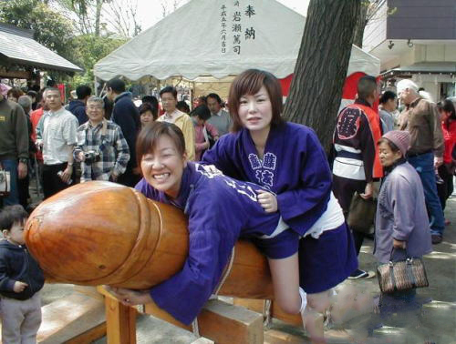 日本的女孩就是开放啊